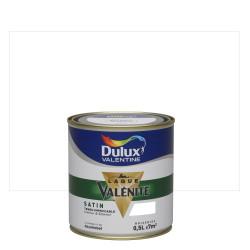 Peinture laque boiserie Valénite blanc satiné 0,5 L - DULUX VALENTINE de marque DULUX VALENTINE, référence: B6004900