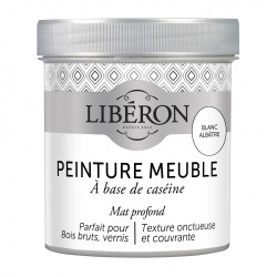 Peinture meuble et boiserie Caséine LIBERON blanc albâtre mat 0.5 l de marque LIBERON, référence: B6006700