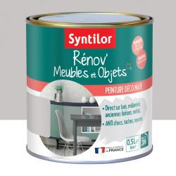 Peinture meuble et boiserie Rénov' SYNTILOR gris pierre mat 0.5 l de marque SYNTILOR, référence: B6011400