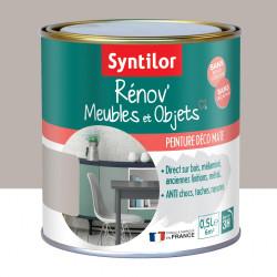 Peinture meuble et boiserie Rénov' SYNTILOR taupe bohème mat 0.5 l de marque SYNTILOR, référence: B6012600
