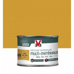 Peinture multimatériau extérieur Décolab® V33 miel satiné 0.125 l de marque V33, référence: B6015900