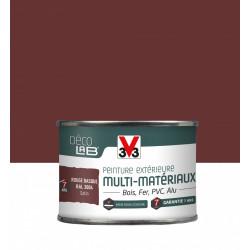 Peinture multimatériau extérieur Décolab® V33 rouge basque satiné 0.125 l de marque V33, référence: B6016400