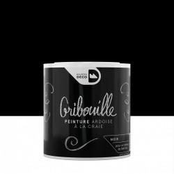 Peinture tableau craie noir mat MAISON DECO Gribouille 0.5 l de marque MAISON DECO, référence: B6037400