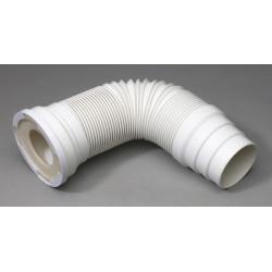 Pipe de WC extensible souple Diam.10 cm WIRQUIN de marque WIRQUIN, référence: B6045300