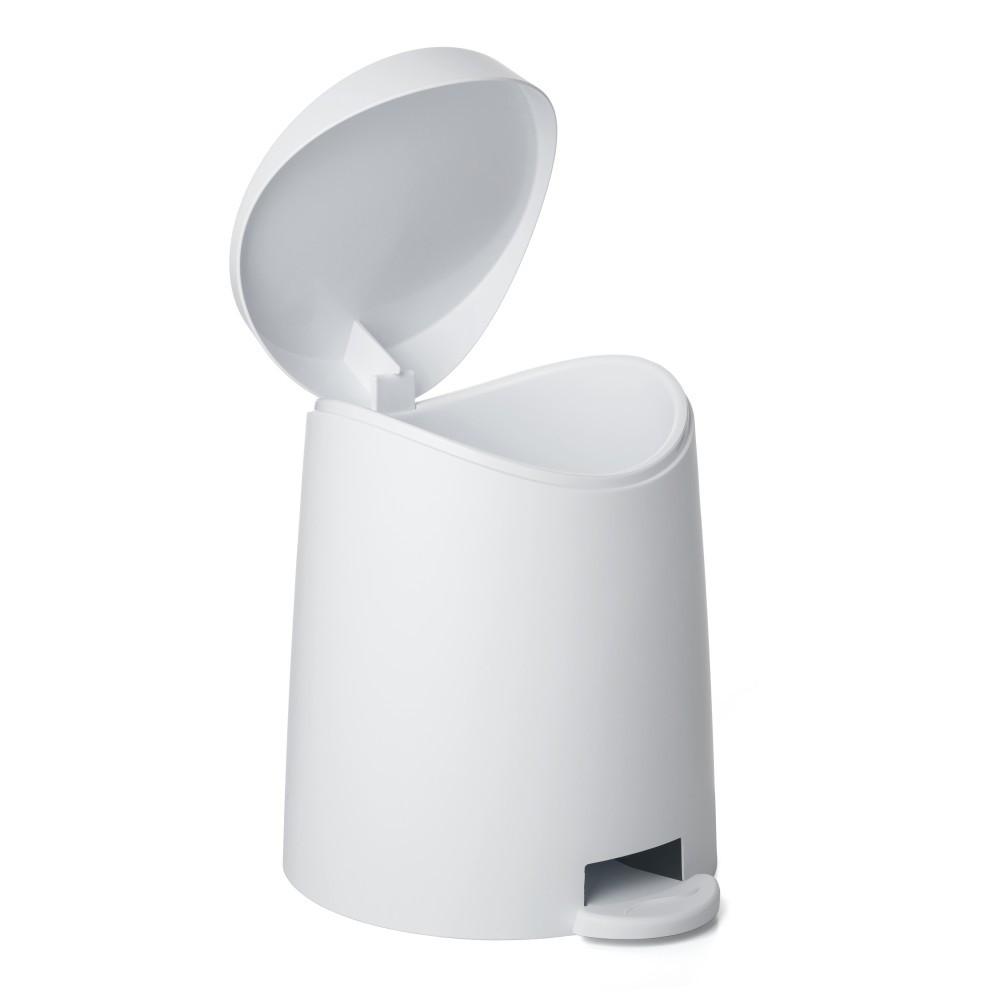 Poubelle de salle de bains 3 l blanc TATAY Milan