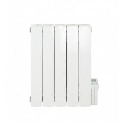 Radiateur électrique à inertie fluide 900 W DELTACALOR Telica cintré horizontal de marque DELTACALOR, référence: B6068100