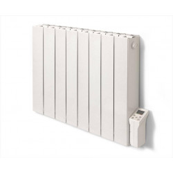 Radiateur électrique à inertie sèche 2000 W DELTACALOR Cubo horizontal blanc de marque DELTACALOR, référence: B6068800