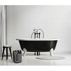 Radiateur soufflant salle de bain mobile électrique THOMSON Fifty thsf 2000 W de marque Thomson, référence: B6069100
