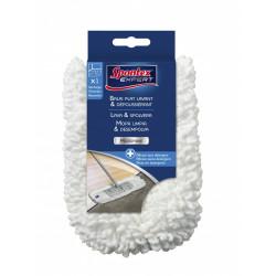 Recharge balai plat Lavant et dépoussiérant SPONTEX EXPERT polyester / polyamide de marque SPONTEX EXPERT, référence: B6074200
