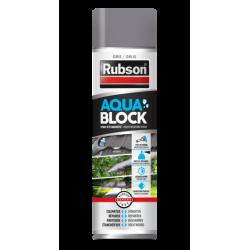 Revêtement d'étanchéité Rubson aquablock gris spray 0.3L de marque RUBSON, référence: B6080600