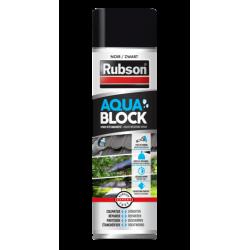 Revêtement d'étanchéité Rubson aquablock noir spray 0.3L de marque RUBSON, référence: B6080700