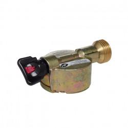 Robinet adaptateur gaz butane / propane pour elfi et twinny x Diam.20mm, GAZINOX de marque GAZINOX, référence: B6082500