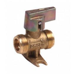 Robinet d'arrêt pour gaz butane / propane 1/4 de tour, GAZINOX de marque GAZINOX, référence: B6082700