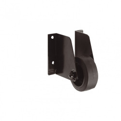 Roulette support de portail acier prépeint, H.100 x L.30 x P.90 mm de marque AFBAT, référence: B6086200