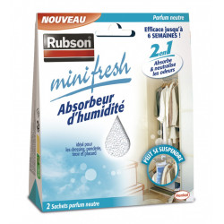 RUBSON Minifresh placard absorbeur d'humidité, 2 m² de marque RUBSON, référence: B6088700