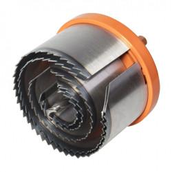 Scie cloche T8 Diam.30 mm WOLFCRAFT de marque WOLFCRAFT, référence: B6094600