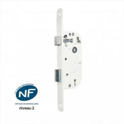 Serrure encastrée BRICARD certifiée NF, à clé, axe 40 mm de marque BRICARD, référence: B6102800