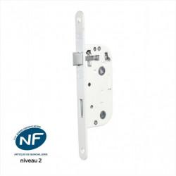 Serrure encastrée BRICARD, certifiée NF, à condamnation, axe 40 mm de marque BRICARD, référence: B6103400
