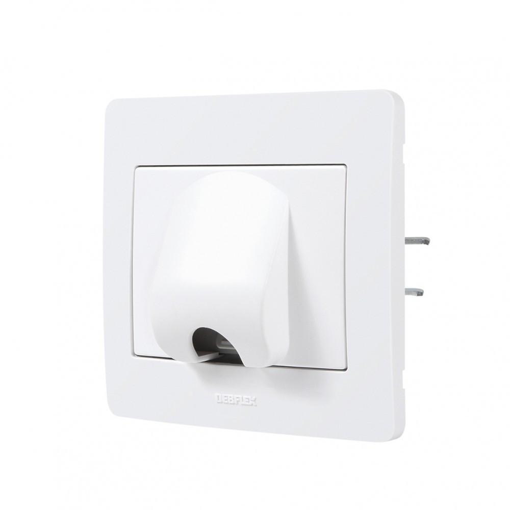 Sortie de câble Diam2, DEBFLEX, blanc