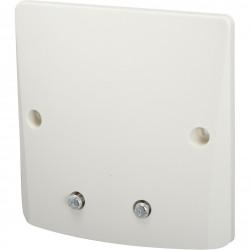 Sortie de câble Perfect, blanc, DEBFLEX de marque DEBFLEX, référence: B6108200