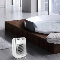 Soufflant céramique salle de bain mobile électrique THOMSON Fifty thsf 2000 W de marque Thomson, référence: B6108600
