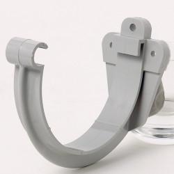 Support de bandeau développé 25 Crap80 gris pvc de marque GIRPI, référence: B6113400