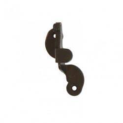 Support d'espagnolette acier prépeint, H.90 x L.50 x P.35 mm de marque AFBAT, référence: B6113800