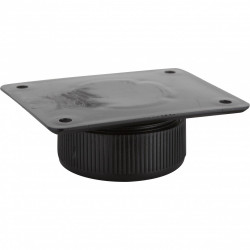Système de réglage de hauteur plastique à visser, Diam.65 x H.25 mm x l.80 mm de marque HETTICH, référence: B6114700