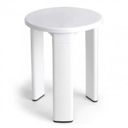 Tabouret à poser, blanc de marque TATAY, référence: B6116100