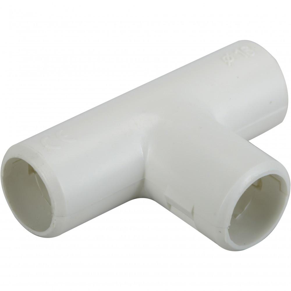 Té pour tube IRL diam. 16 mm ELECTRALINE