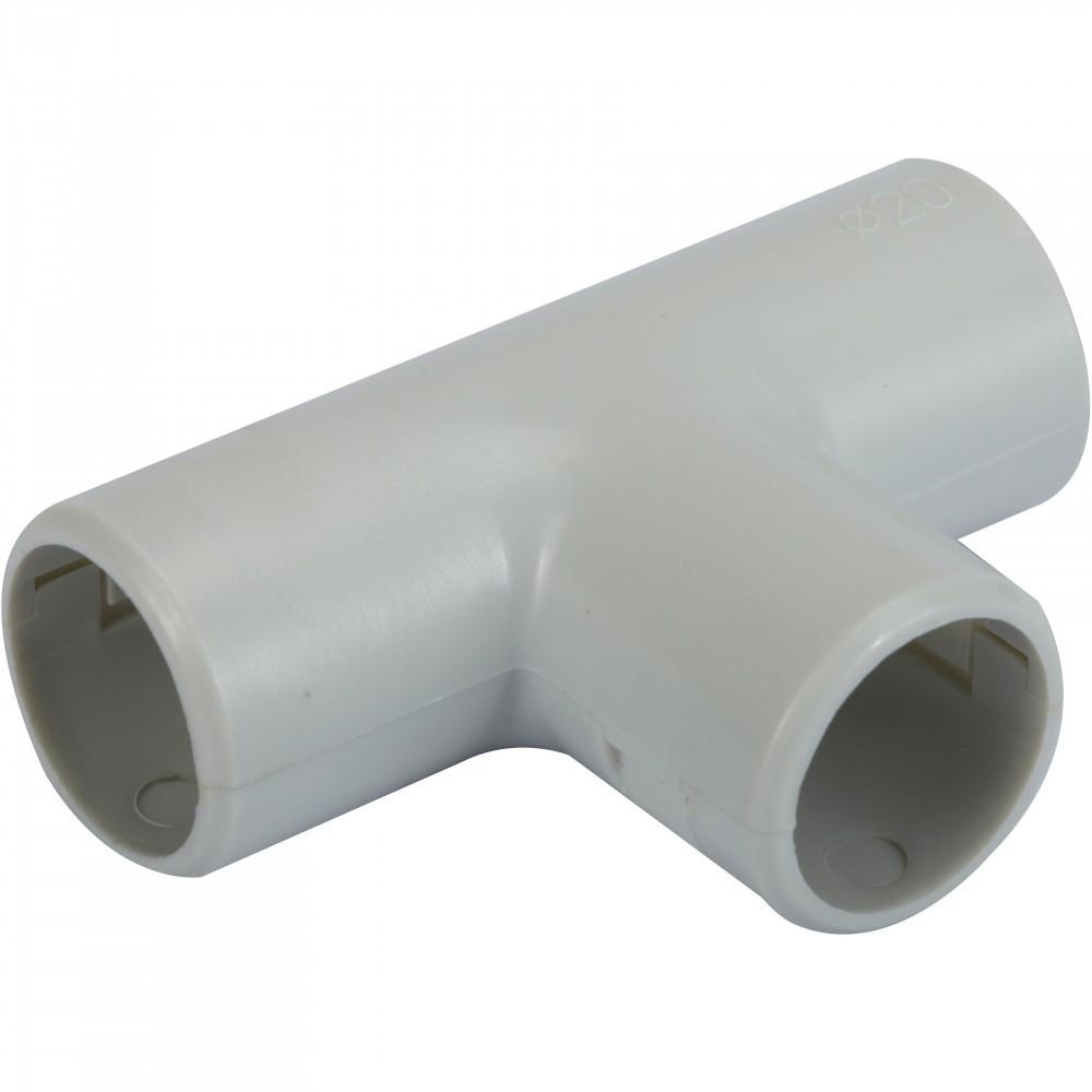 Té pour tube IRL diam. 20 mm ELECTRALINE