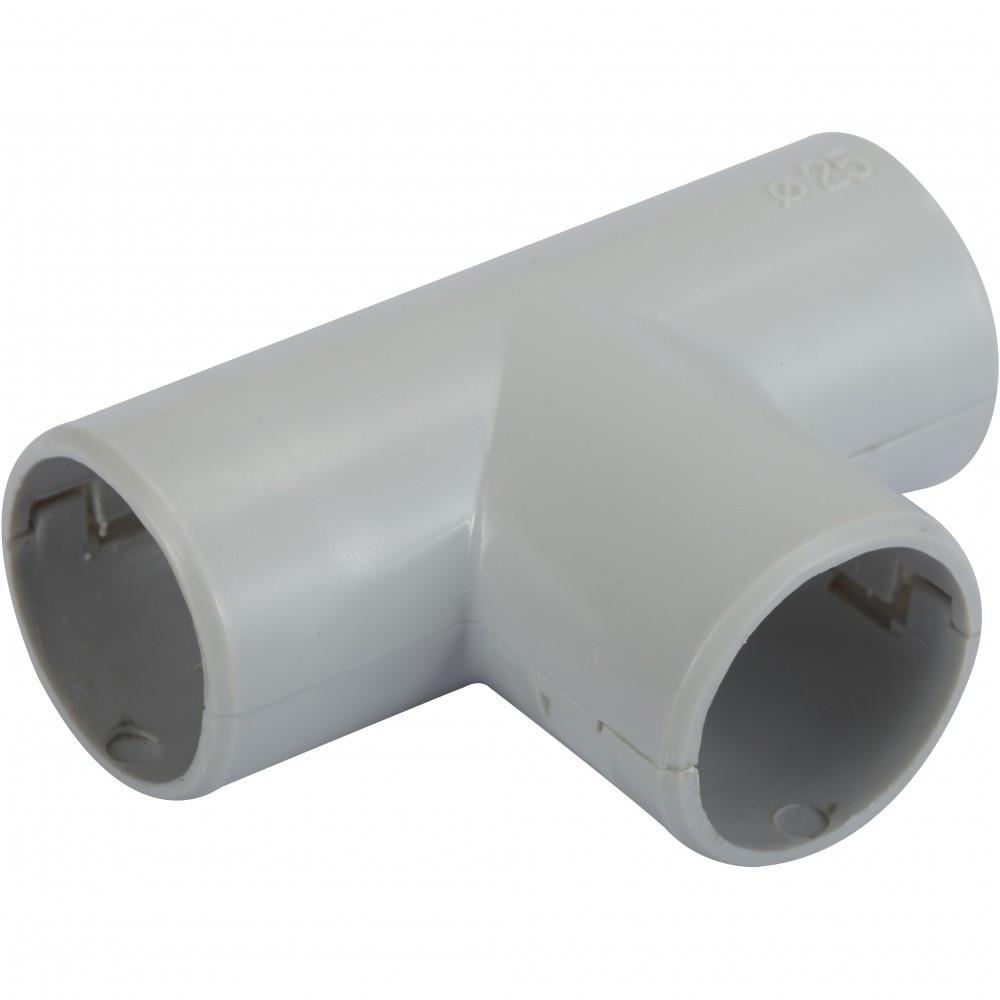 Té pour tube IRL diam. 25 mm ELECTRALINE