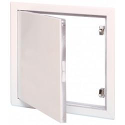Trappe de visite blanche laquée SEMIN, 40 x 40 cm de marque SEMIN, référence: B6138300