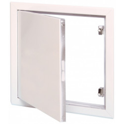 Trappe de visite blanche laquée SEMIN, 50 x 50 cm de marque SEMIN, référence: B6138400
