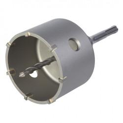 Trépan béton multimatériau, Diam.Trépan de plus de 80 mm WOLFCRAFT de marque WOLFCRAFT, référence: B6138900