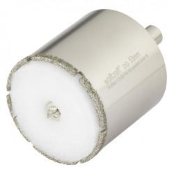 Trépan diamant carrelage p45, Diam.53 mm WOLFCRAFT de marque WOLFCRAFT, référence: B6139500