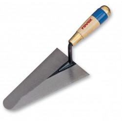 Truelle cazzuola ronde acier traité REVEX, 18 cm de marque REVEX, référence: B6143900
