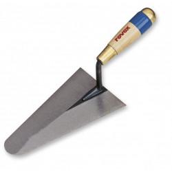Truelle cazzuola ronde acier traité REVEX, 24 cm de marque REVEX, référence: B6144200