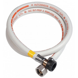 Tuyau caoutchouc gaz bp, garantie 10 ans, H.100 cm GAZINOX de marque GAZINOX, référence: B6146600