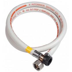 Tuyau caoutchouc gaz bp, garantie 10 ans, H.150 cm GAZINOX de marque GAZINOX, référence: B6146700
