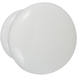 Bouton de meuble Univers blanc bois H.35 x l.35 x P.30 mm de marque CHRISLIGNE, référence: B6172700