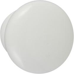 Bouton de meuble Univers blanc bois H.45 x l.45 x P.36 mm de marque CHRISLIGNE, référence: B6172800