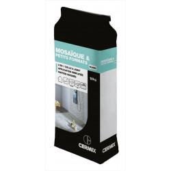 Colle et joint poudre DESVRES, blanc 10 kg, 2 m² de marque DESVRES, référence: B6174400