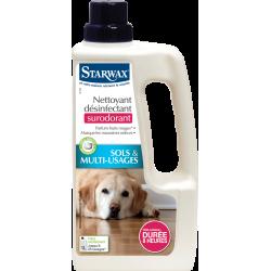 Désinfectant nettoyant surodorant animal 1l 5464 STARWAX 1 de marque Starwax, référence: B6180000