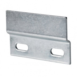 Lot de 2 profils pour suspension de meubles hauts acier zingué HETTICH, l.45 mm de marque HETTICH, référence: B6203800