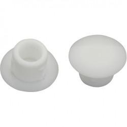 Lot de 20 cache-vis plastique brut HETTICH de marque HETTICH, référence: B6204300