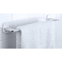 Porte-serviettes aluminium 1 barre fixe flat de marque TATAY, référence: B6249100