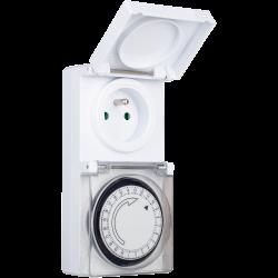 Programmateur 24 h mécanique extérieur, SMARTWARES de marque SMARTWARES, référence: B6250100