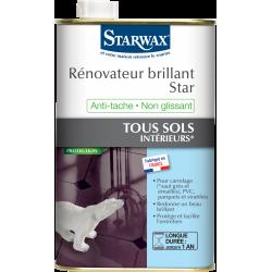 Rénovateur sol intérieur Star STARWAX 1 l de marque Starwax, référence: B6251900