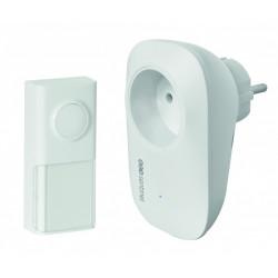 Sonnette sans fil sans pile SCS SENTINEL EcoBell 100 Plug de marque SCS SENTINEL, référence: B6254500